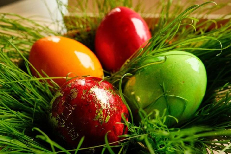 Ouăle de Paște. Foto: Pixabay