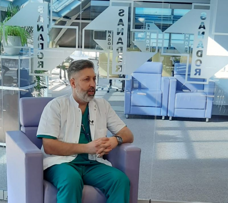 Dr Stanislav Rurac, Sanador. Foto: DC Medical