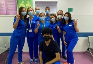 Echipa Centrului dedicat pacienților cu Boli Inflamatorii  FOTO: Facebook Spitalul Colentina