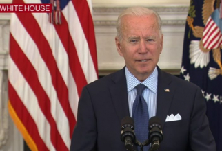 Joe Biden. Foto: print screen Conferință Casa Albă