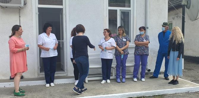 Ministrul Sănătății Ioana Mihăilă la Tulcea  FOTO: Facebook Ministerul Sănătății