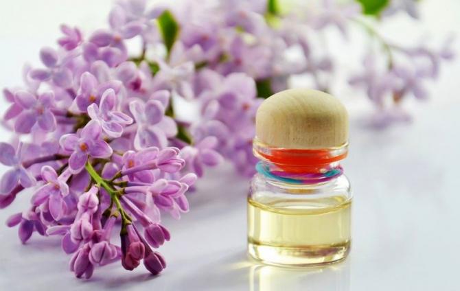 Leac cu flori de liliac. Foto: Pixabay
