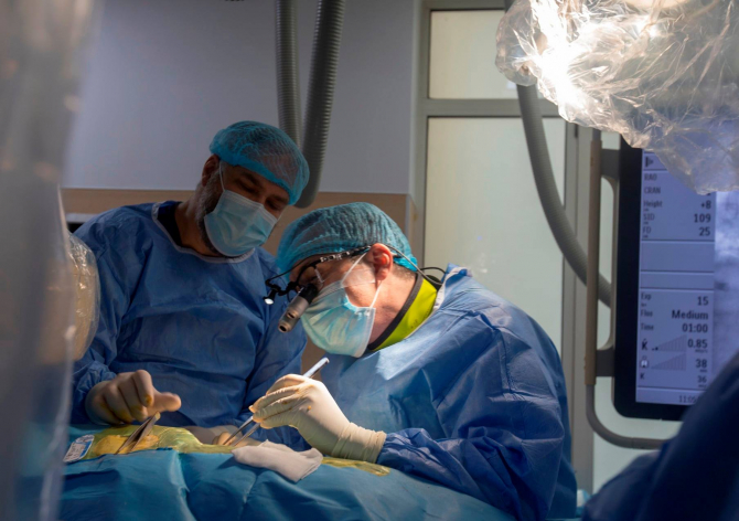 Premieră medicală la SUUMC  Foto: Daniela Gheorghe