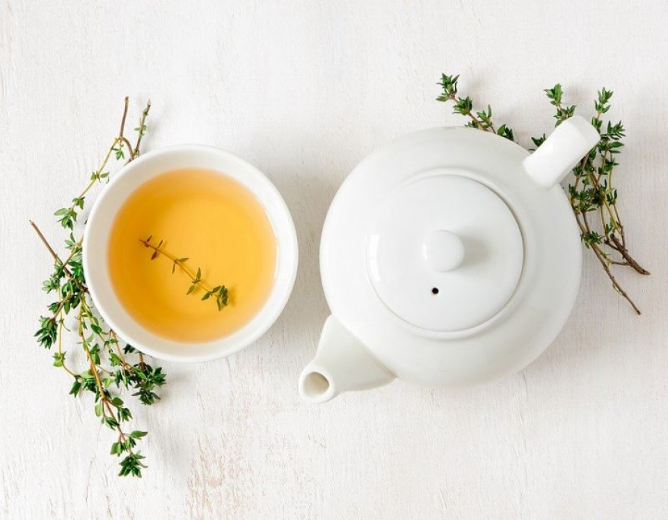 Ceaiul de cimbru. Foto: Pixabay