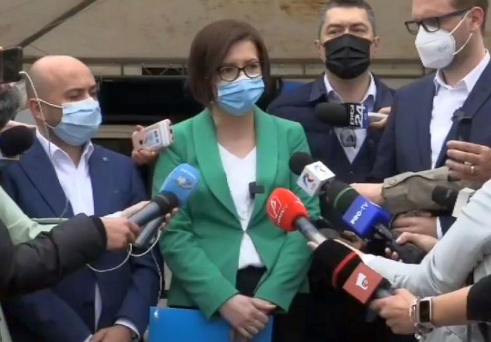 Ioana Mihăilă, ministrul Sănătății. Foto: Facebook