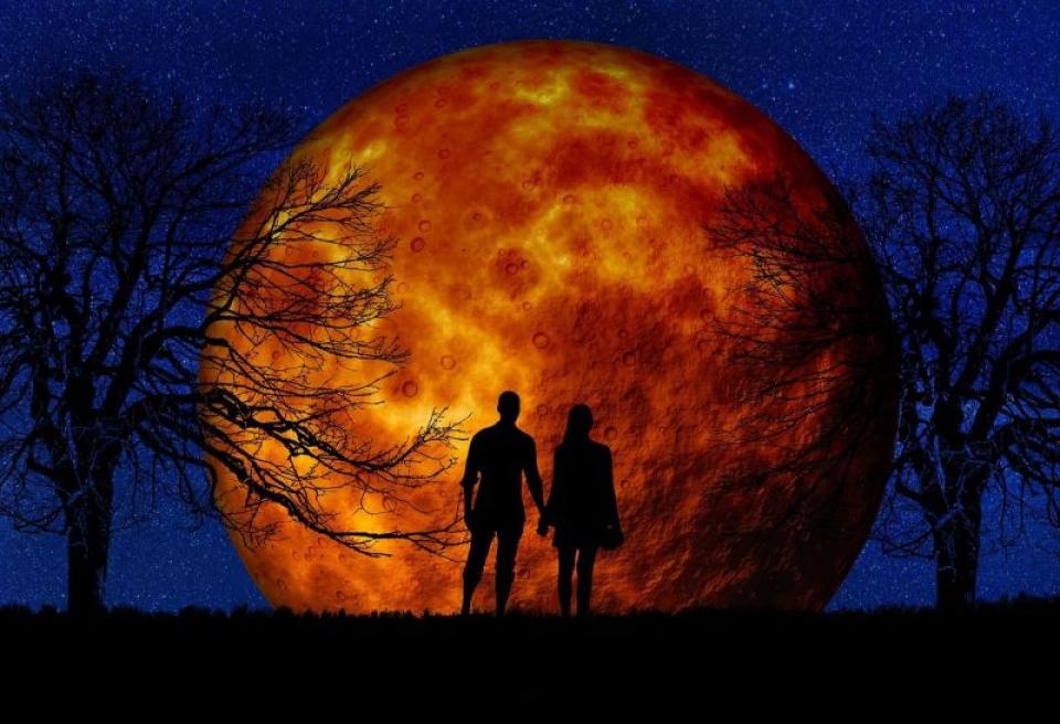 Luna plina. Foto: Pixabay