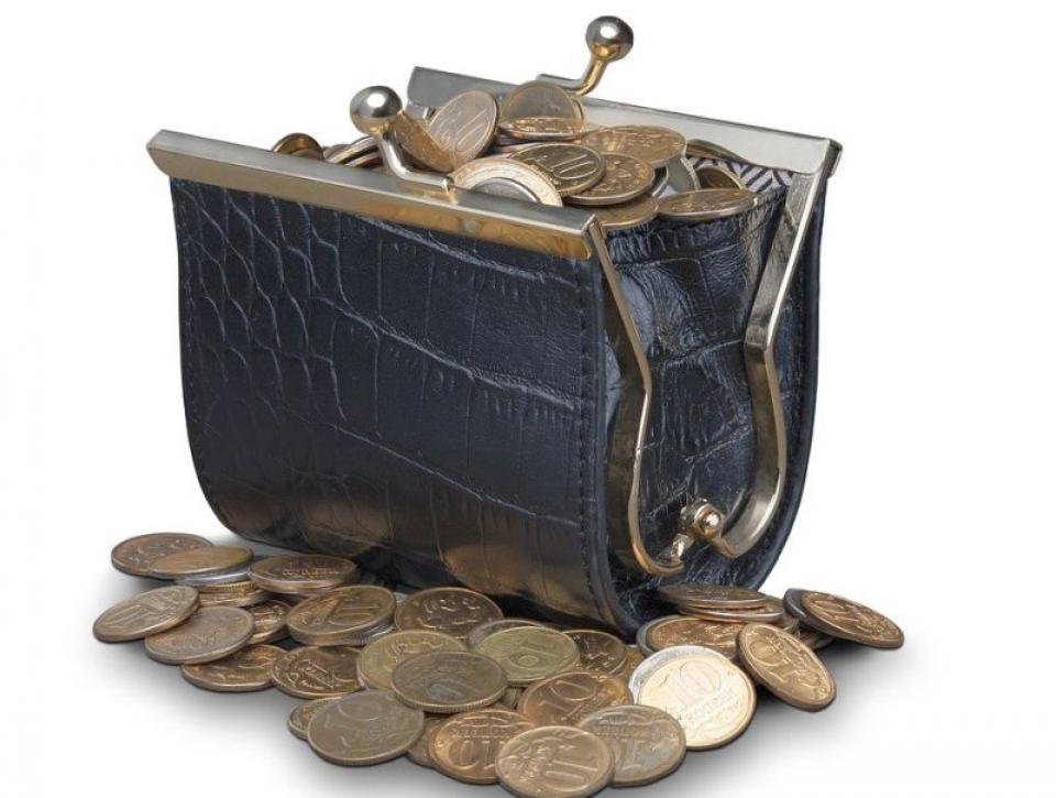 Portmoneu plin cu bani. Foto: Pixabay