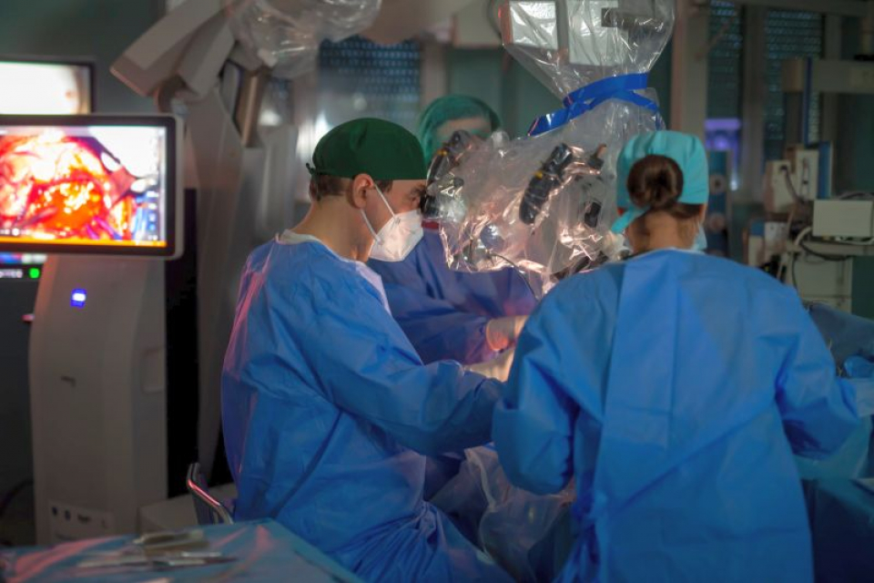 Operația a durat câteva ore și fost un real succes
