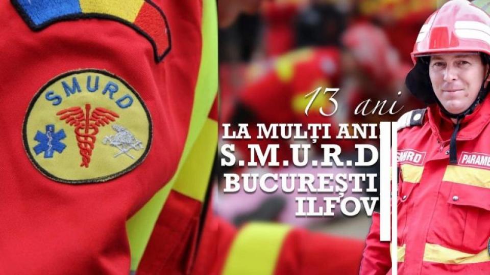 SMURD București Ilfov. Foto: Facebook DSU