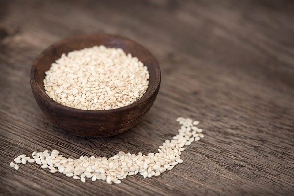 Semințe de susan   Foto: pixabay.com