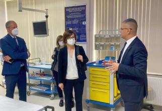 Ioana Mihăilă, vizită în Dolj. Foto: Ministerul Sănătății