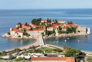 Insula Sveti Stefan, Muntenegru. Foto: Michael Römer / Pixabay