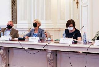 Raluca Turcan, alături de ministrul Sănătății, Ioana Mihăilă. Foto: Facebook / Raluca Turcan