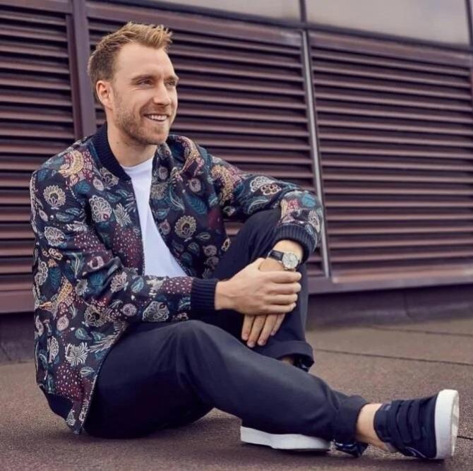 Christian Eriksen   Foto: Facebook