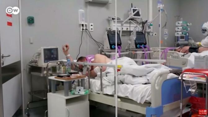 Pacient, spital      Foto cu caracter ilustrativ: Print screen DW