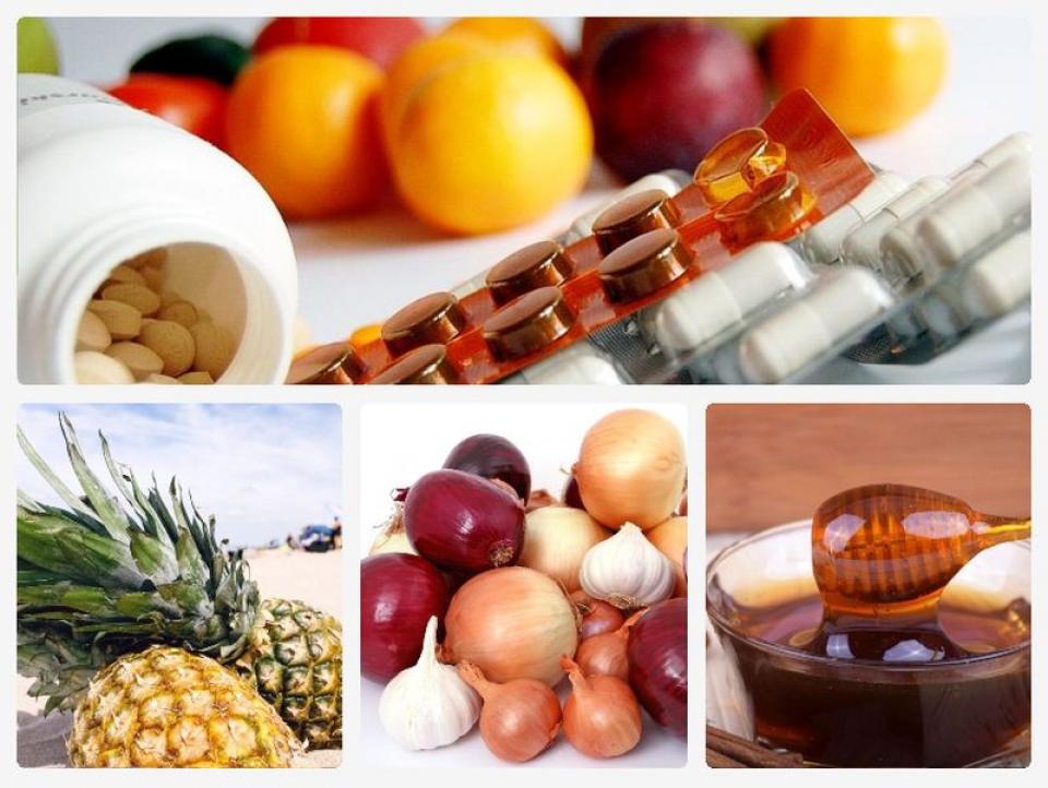 Antibiotice naturale. Colaj Foto: Pixabay
