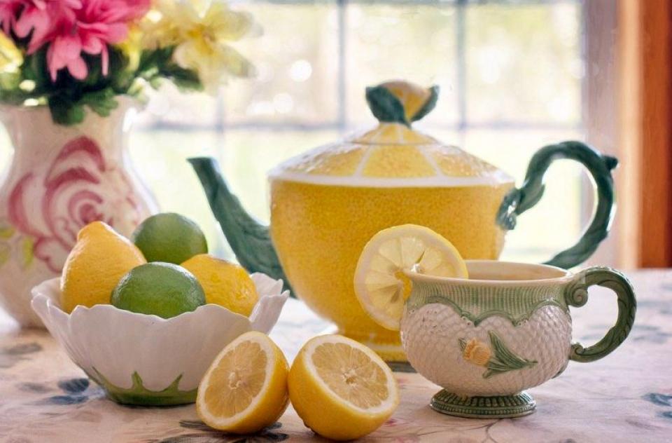 Ceaiul de lămâie. Foto: Pixabay