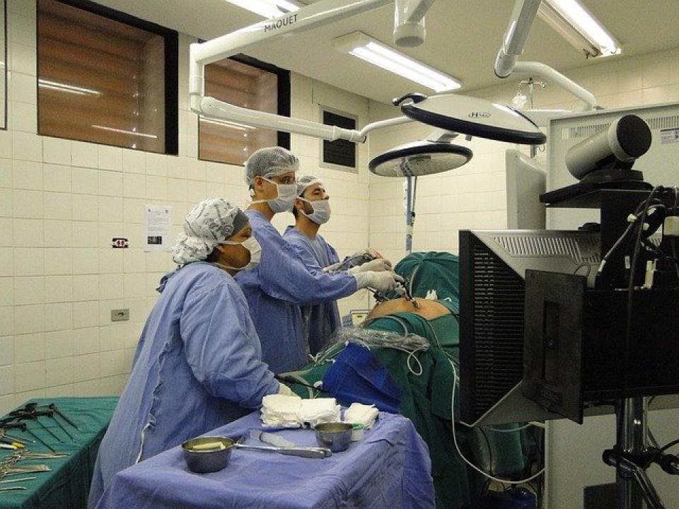 Chirurgie laparoscopică     Imagine cu scop ilustrativ  Foto: pixabay.com