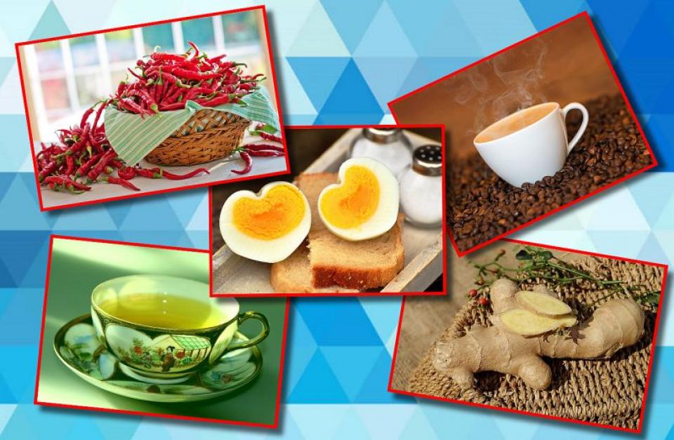 Alimente care accelerează metabolismul și te ajută să slăbești. Fotografii: Pixabay