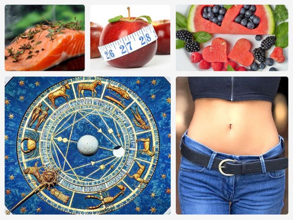 Zodiacul dietelor: ce dietă să țină fiecare zodie. Fotografii colaj: Pixabay