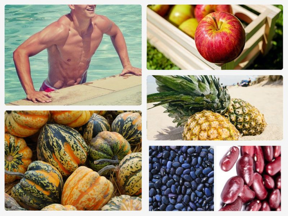 Dieta pentru bărbați, cu carbohidrați sănătoși. Fotografii colaj: Pixabay