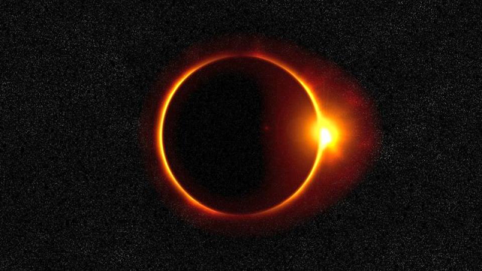 Eclipa solara cu inel de foc. Foto: Pixabay