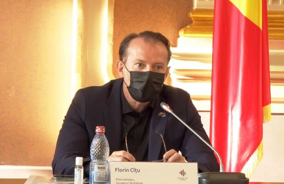 Florin Cîțu. Foto: Print screen