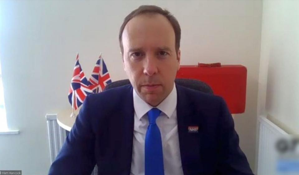 Ministrul britanic al Sănătății, Matt Hancock, și-a dat demisia. Foto: Facebook