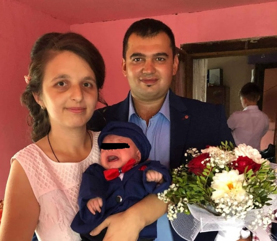 Iulia și soțul ei aveau doi copii