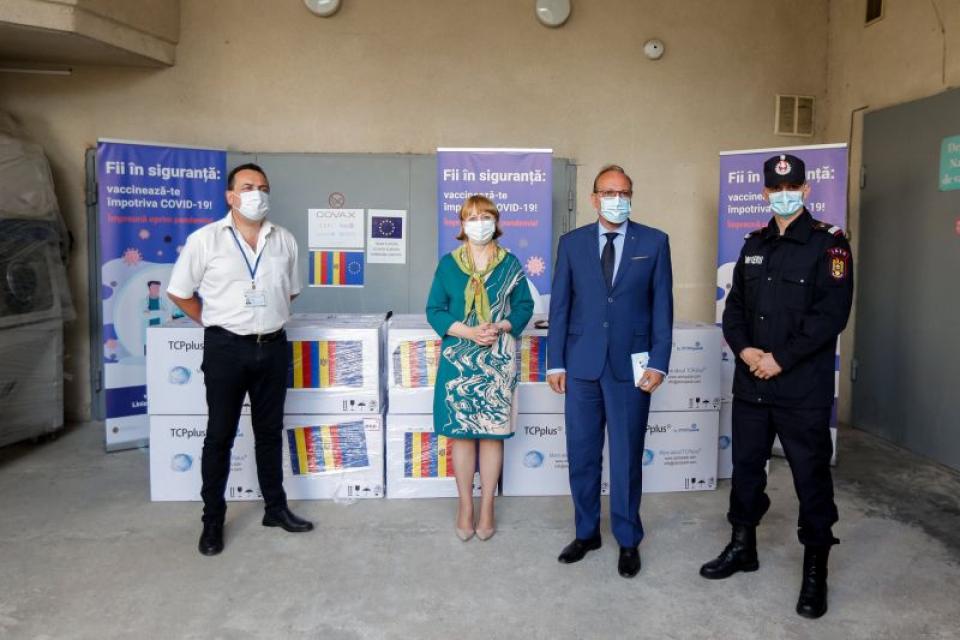 Noua tranșă de vaccin a ajuns în Republica Moldova
