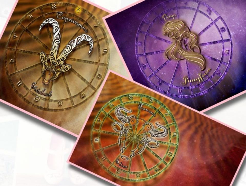 Taur, Capricorn și Fecioară, zodiile de pământ