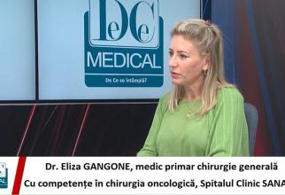 Dr Eliza Gangone, la Interviurile DC Medical