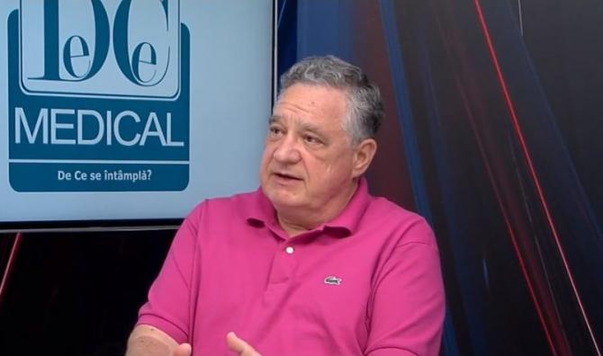 Medicul Teodor Bădescu de la Spitalul Sanador  FOTO: DC Media Group