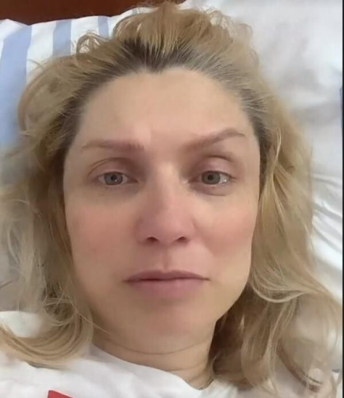 Cristina Cioran a născut prematur Foto: Instagram