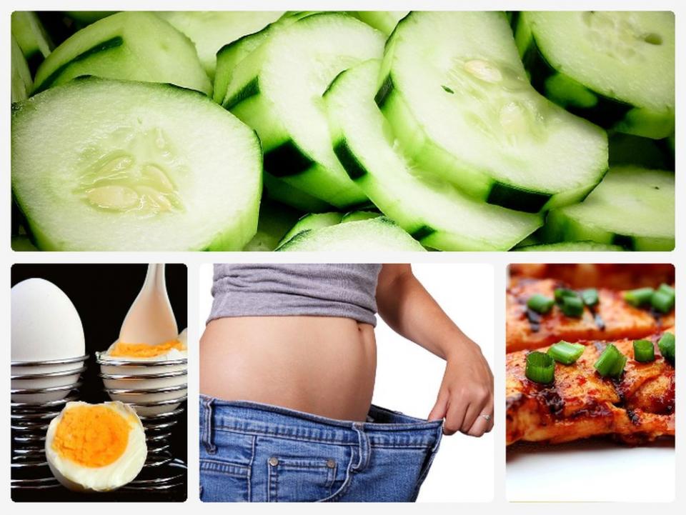 Dieta cu castraveti. Fotografii colaj: Pixabay