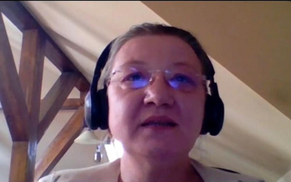 Biologul Ioana Adina Rugescu
