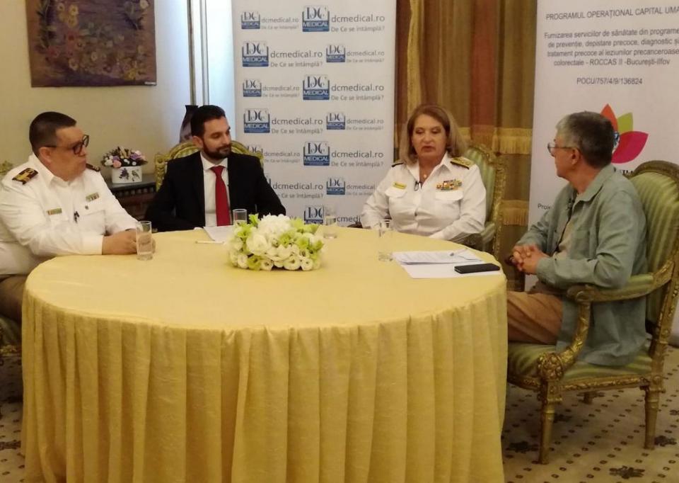 Masă rotundă pe tema proiectului de screening în cancerul colorectal, la Interviurile DC Medical