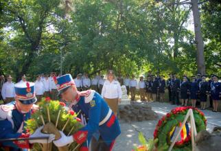 Depunere de corone de Ziua Medicinei Militare. Foto: Daniel Iancu și Daniela Gheorghe