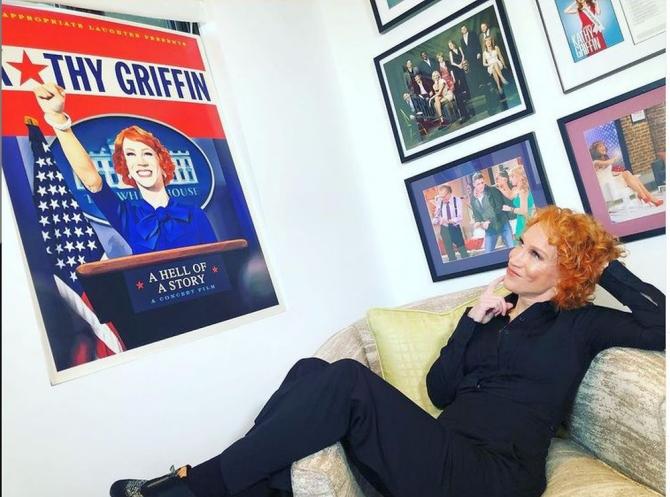 Kathy Griffin. Foto: Instagram / contul peersonal