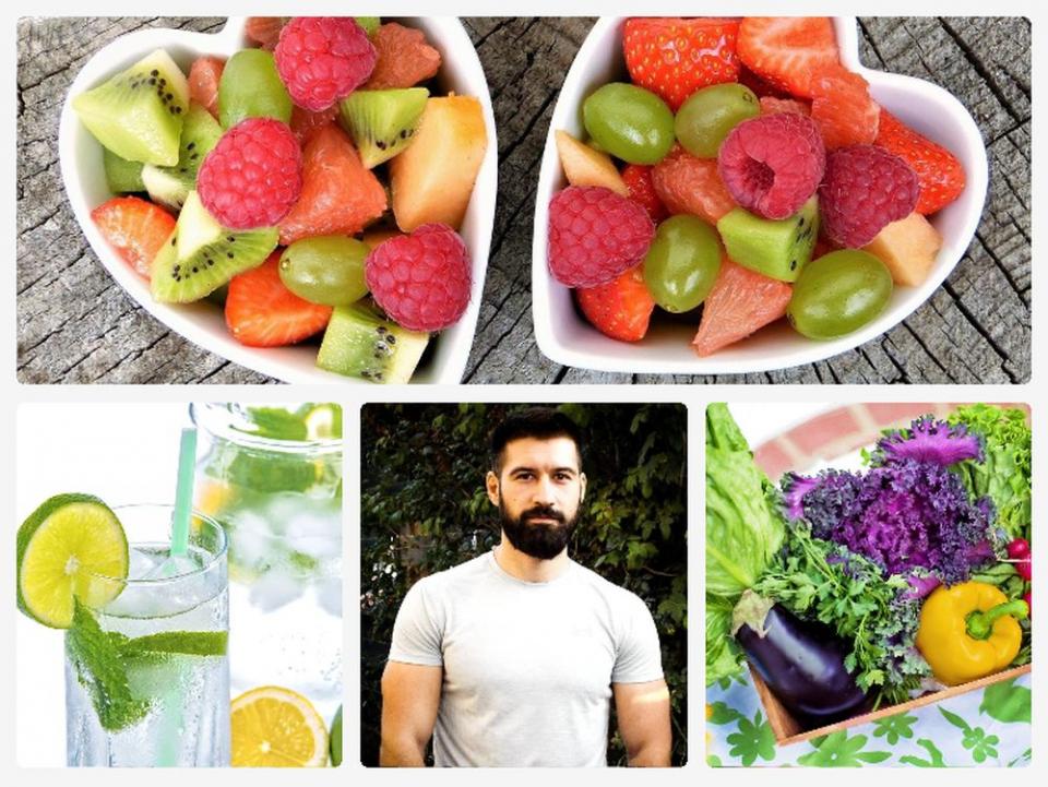 Ce fructe și legume specifice lunii august apar pe lista nutriționistului Alexandru Călugăru. Foto: Colaj DC Medical / Pixabay