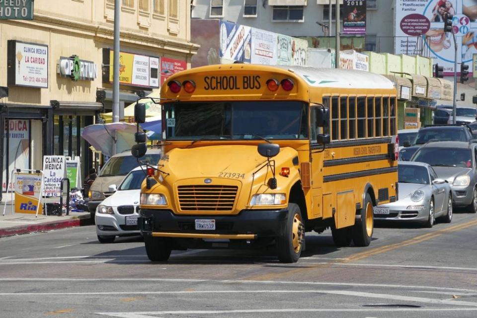 Autobuzele școlare sunt sigure pentru elevi. Foto: Pixabay