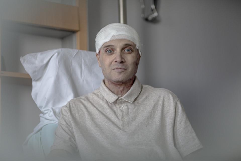 Medicul Cătălin Denciu este în plină recuperare    Sursa foto: beldefnews.mil.be