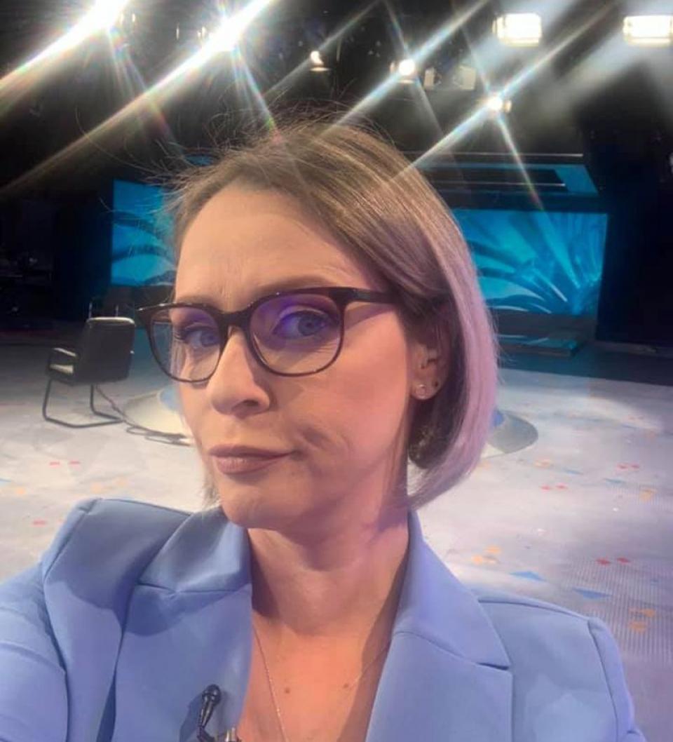 Maria Coman. Foto: Facebook / pagina personală