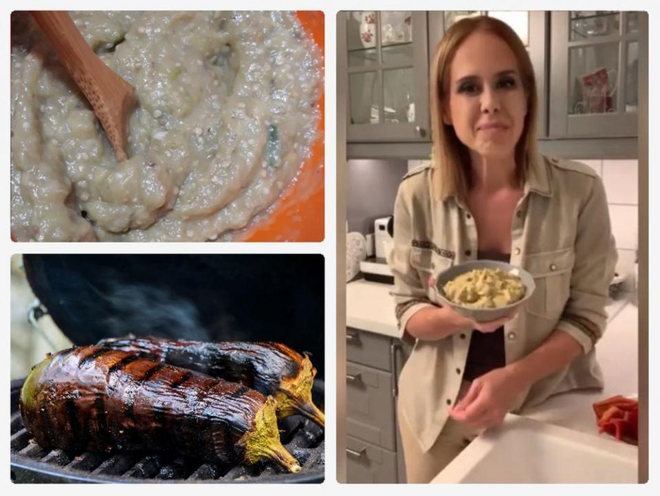 Salata de vinete cu maioneză, rețeta dietetică dată de dr Mihaela Bilic