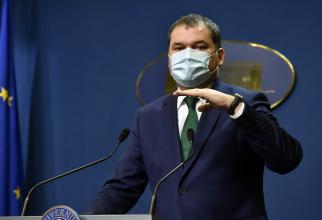 Cseke Attila, ministru interimar al Sănătății   Foto: digi24