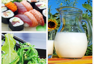 Alimentele din care obții iod, ca să eviți deficiența. Foto colag: Pixabay