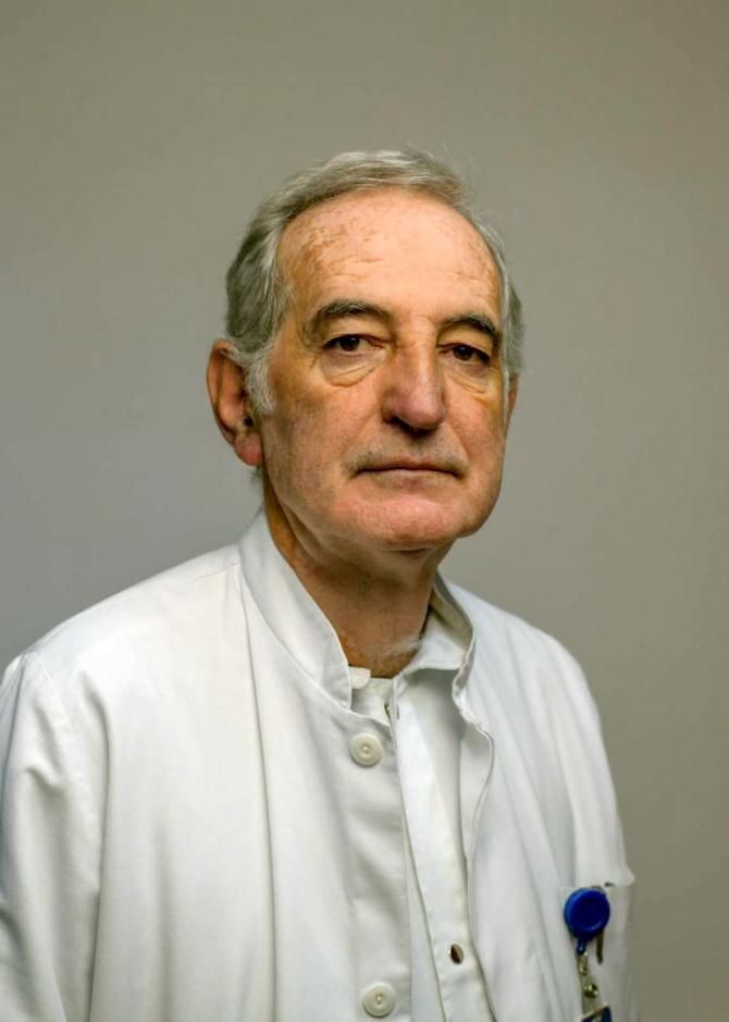 Dr. Kalman Schwarz. Foto: Facebook / Gabriel Lazany
