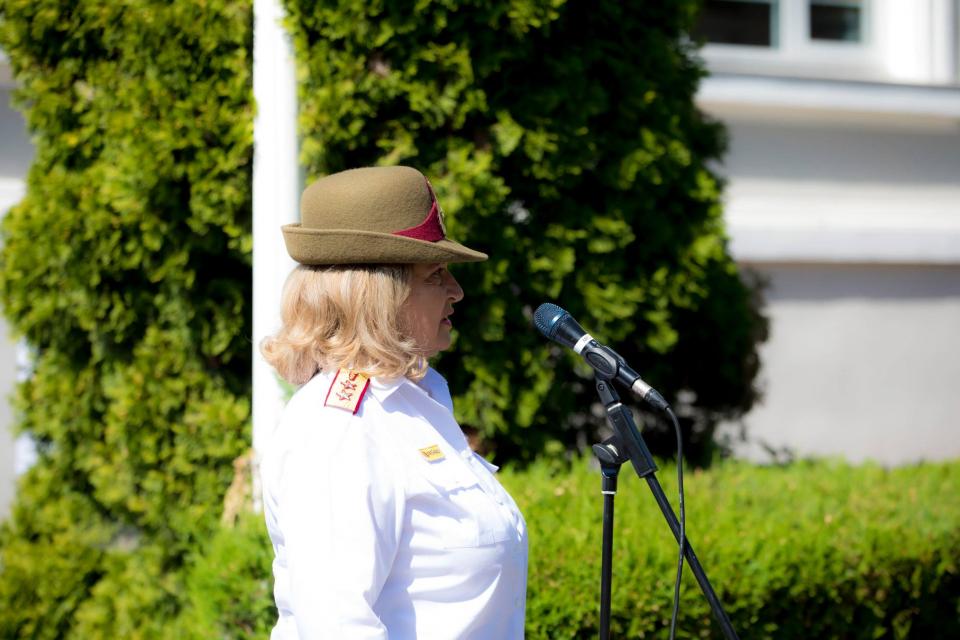 Comandantul Spitalului Militar Florentina Ioniță Radu  Facebook Spitalul Militar Central