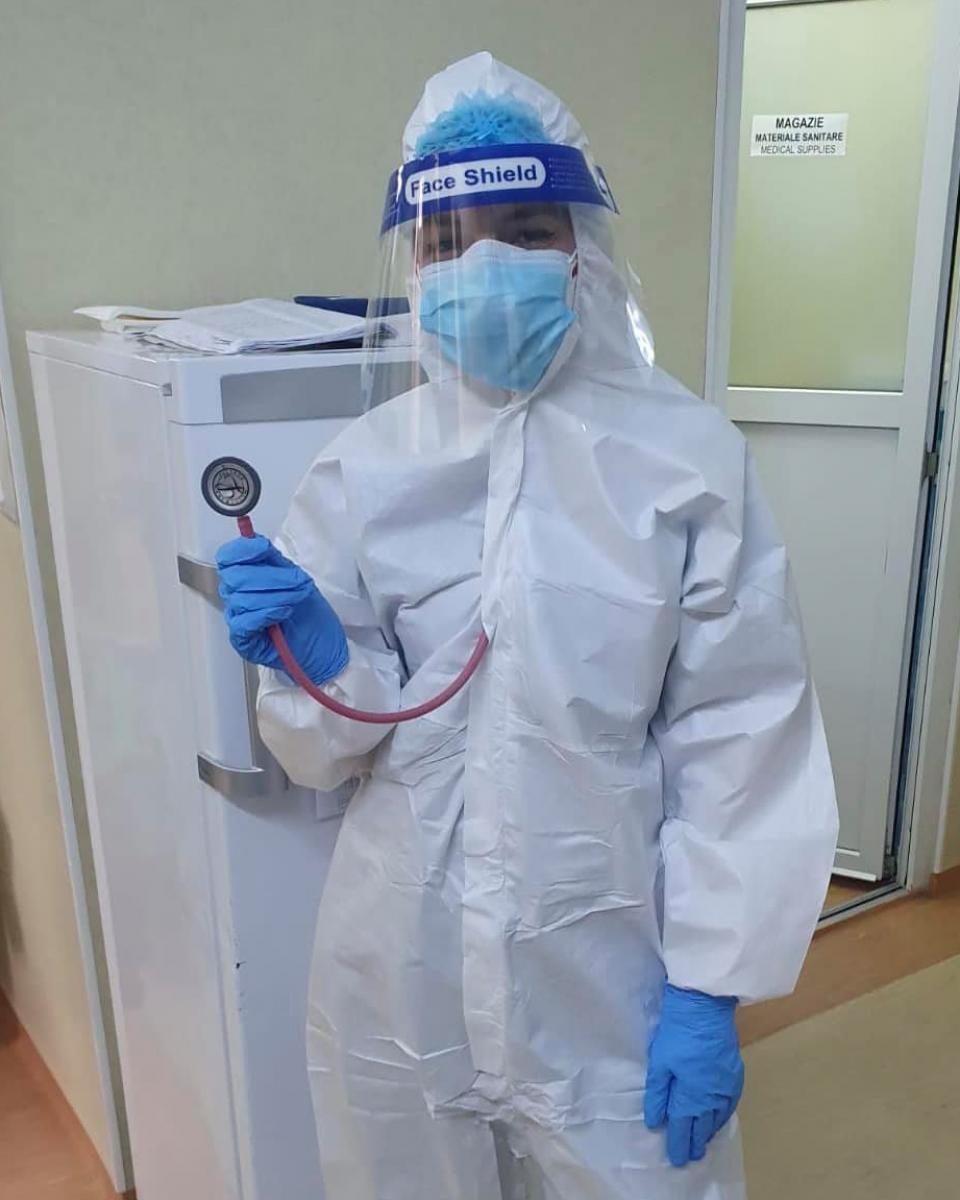 Medicul Casandra Bulescu  FOTO: Facebook Ro Vaccinare
