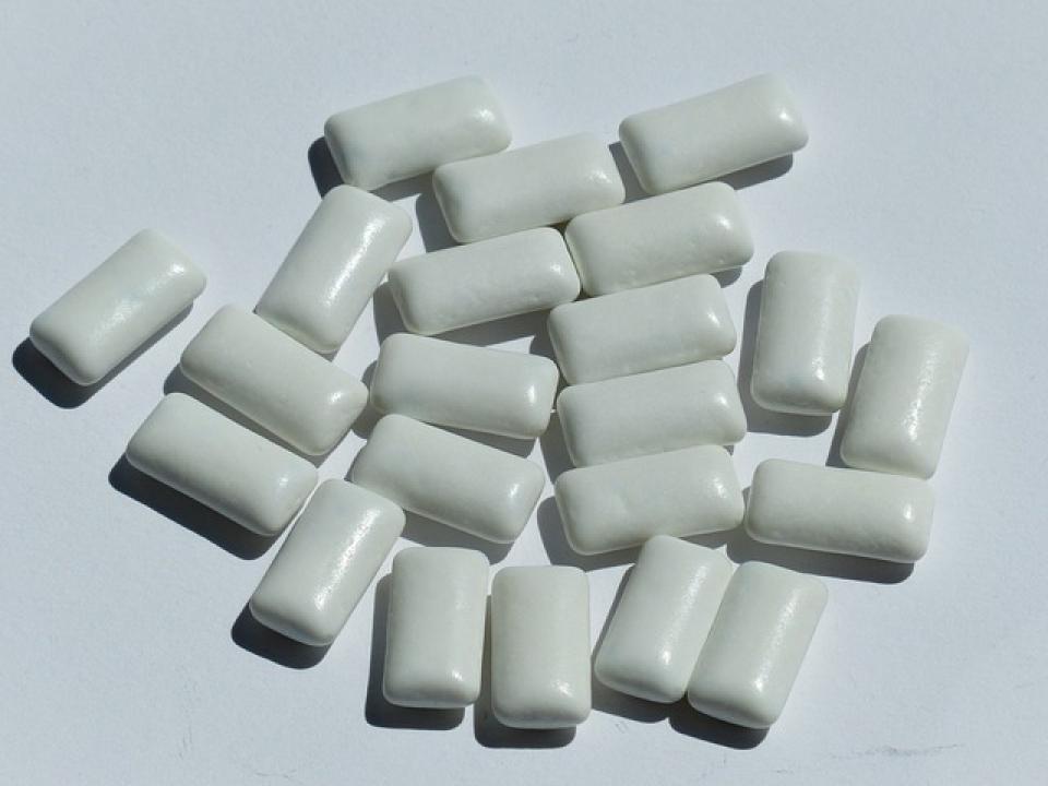Gumă de mestecat  FOTO: pixabay